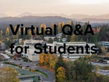 Virtual Q&A for Students